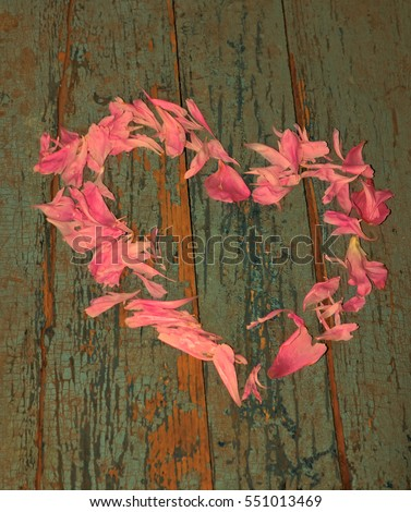 Valentines Day Floral Wreath Form Heart Stock Photo Edit Now