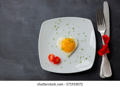 Valentine's Day - fried eggs