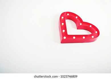 Valentine's Day Heart Shining