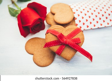 Valentines day hearts Cookies