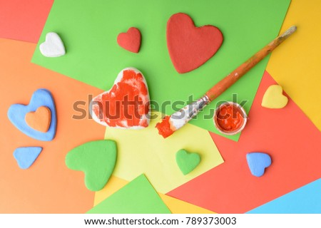 Valentines Day Love Background Greeting Card Stock Photo Edit Now