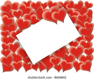 Valentines Day - Love card - vector