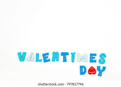 valentines day texture isolated and white background
