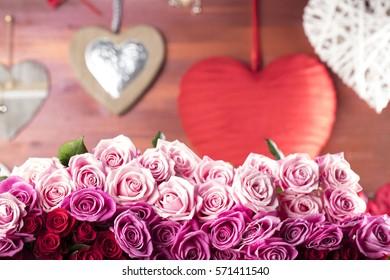 Valentines day theme.