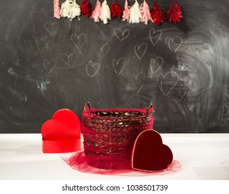 Valentines photography setting