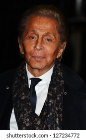 Valentino Garavani arriving for the British Fashion Awards 2012 at the Savoy Hotel, London. 27/11/2012 Picture by: Steve Vas