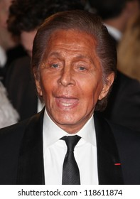 Valentino Garavani arriving for the Royal World Premiere of 'Skyfall' at Royal Albert Hall, London. 23/10/2012 Picture by: Alexandra Glen