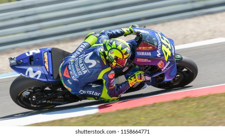 Valentino Rossi during MotoGP Motul TT Assen race in TT Circuit Assen (Assen - Netherlands) on June 29 2018