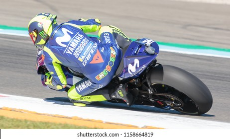Valentino Rossi during MotoGP Motul TT Assen race in TT Circuit Assen (Assen - Netherlands) on June 30 2018