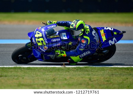 e4be9713c3 Valentino Rossi no.46 of Italy and Movistar Yamaha MotoGP in action during  the Free