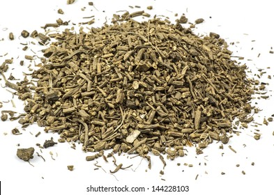 Valerian dried and cut