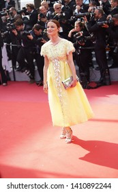 """Valerie Pachner attends the screening of """"Once Upon A Time In Hollywood"""" during the 72nd annual Cannes Film Festival on May 21, 2019 in Cannes, France."""