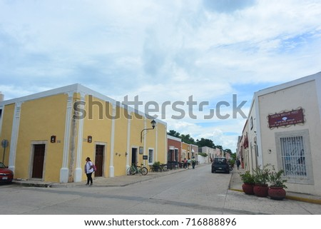 VALLADOLID MEXICO AUG 29TH 2017 Unidentified Stock Photo