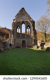 Valle Crucis Abbey was founded in 1201 as a Cistercian monastery and closed in 1537. The ruins are a prominent landmark in the vale of Llangollen North Wales