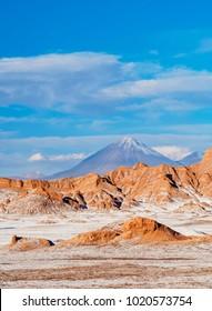 Valle de la Luna, The Moon Valley near San Pedro de Atacama, Atacama Desert, Antofagasta Region, Chile