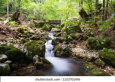 Valle Jannanghera Springs, Civitella Alfedena, Parco Nazionale d'Abruzzo, Itay