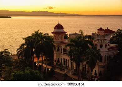 Valle Palace at Sunrise, Cienfuegos, Cuba