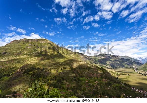 Valle Sagrado - Sacred Valley in the Cuzco region, Peru, South America