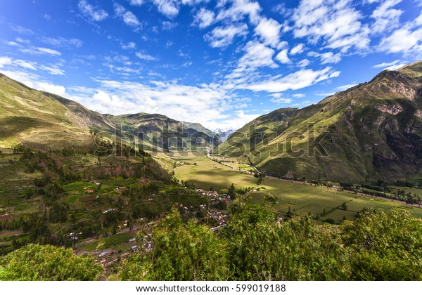 Valle Sagrado - Sacred Valley in the Cuzco region, Peru, South America