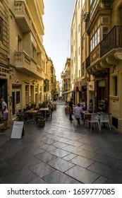 Valletta, Malta - 06/22/2019 : Strolling the Street