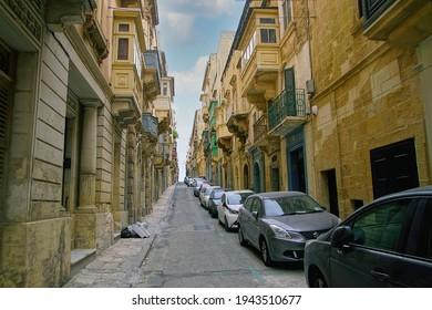 VALLETTA, MALTA - APR 10, 2018 -  of Valletta, Malta