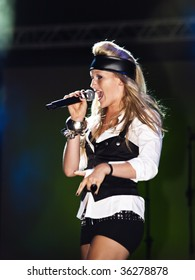 VALLETTA, MALTA - AUG 29 - Sophie performing during the Michael Jackson Tribute Concert organised by Xfm radio station at The Valletta Waterfront 29th August 2009