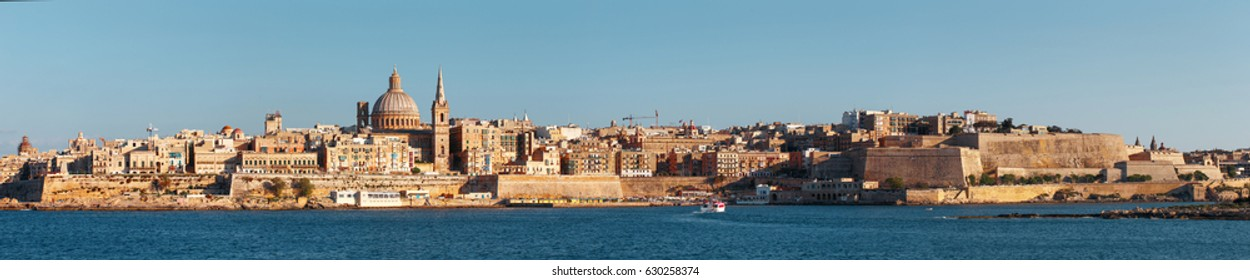 Valletta panorama, Malta, EU