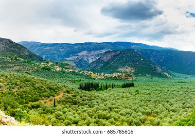 Valley Amfissa,  is a town in Phocis, Greece, part of the municipality of Delphi