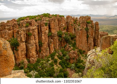 Valley of Desolation near Graaf-Reinet, South Africa