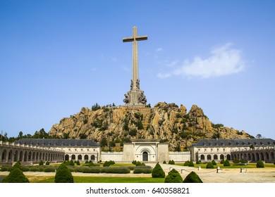 Valley of the Fallen in Madrid, Spain