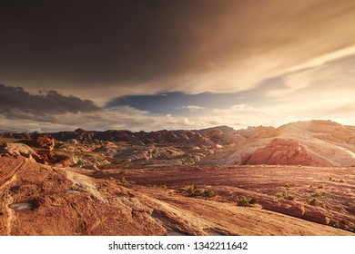 Valley of Fire state park landscape