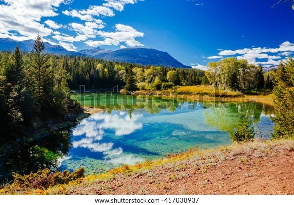 The Valley of the Five Lakes hike offers clear lakes with unique shades of jade and blue. The Valley of the Five Lakes loop is just under a 5km circuit.