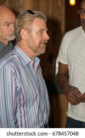 VALLEY FORGE CASINO, KING OF PRUSSIA, PA - JULY 15: Sportscaster Howard Eskin at Kendall s Crusade fundraising event to raise awareness of Arteriovenus Malformations AVM on July 15, 2017