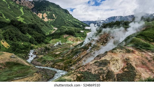 Valley of Geysers, Kamchatka, Russia