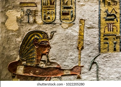 The Valley of the Kings, is a valley in Egypt where, for a period of nearly 500 years from the 16th to 11th century BC, rock cut tombs were excavated for the Pharaohs and powerful nobles