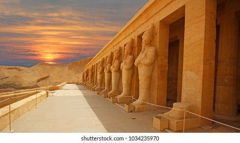 Valley of Kings, in Luxor (Ancient Thebes) west bank, Egypt.