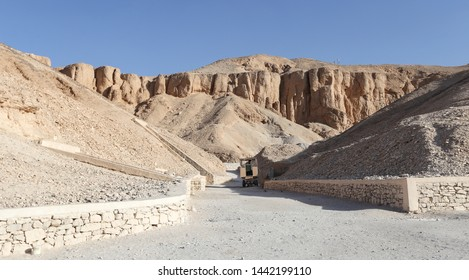 Valley of the Kings in Luxor City, Egypt