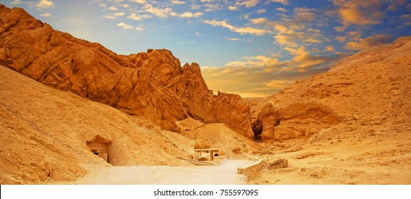 The Valley of the Kings in Luxor, Egypt