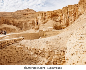 Valley of The Kings, with it's Pharaohs tombs is one of the most visited tourist attractions in Egypt