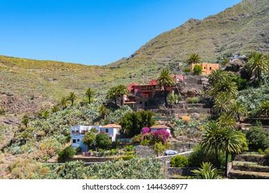 valley of masca in tenerife, Spain