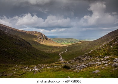 Valley of Mourne mountains, Northern Ireland