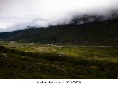 Valley near Kebnekaise, Sweden