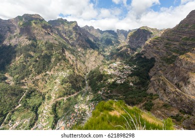 Valley of the Nuns, Curral das Freiras on Madeira Island, Portugal