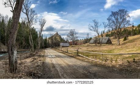 Valley in Pieniny mountains region, Poland - Shutterstock ID 1772202125