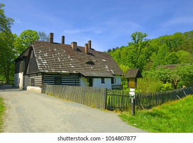 "Valley of the River Upa - Cottage called ""Stare Belidlo"" from 1797, today museum. National cultural landmark Ratiborice by Ceska Skalice, Czech Republic"