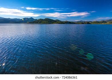 Valley of the Skadar Lake. Montenegro.