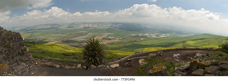 Valley of the sources, Israel, panorama