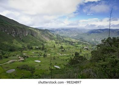 Valley of Susudel, Azuay, Ecuador