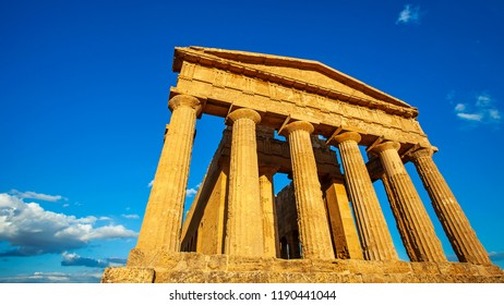 Valley of the Temples , Agrigento, Italy