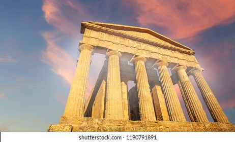 Valley of the Temples in Agrigento, Italy